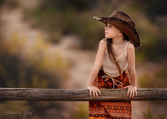 Free Spirit (Portraits by Suzy) Tags: boho beauty portraitsbysuzy girl fashion hippy western rustic child childhood 200mm bokeh canon 6d 20 love pretty color desert las vegas photographer suzy mead cowboy cowgirl rural fence mohave nevada old west cute toddler