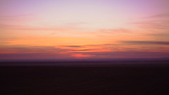 Wild Sunset (thepopi300) Tags: canon castilla y len sunset sun pink night love amazing awesome best 2016 outside 500d aire libre cielo nube anochecer nature orange red black road