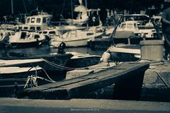 Malinska Port (Eleonora Cacciari) Tags: passerella malinska krk isoladikrk monocromo eos1200d eleonoracacciari repubblicadicroazia republikahrvatska porto port ecacciari shotbyecacciari barche atmosferamarittima