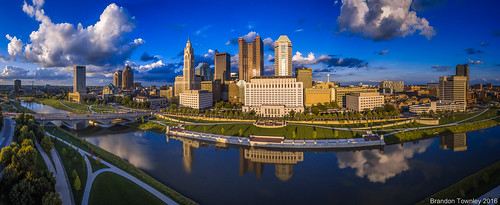 Columbus, Ohio Panorama