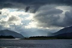 Ballachulish (phozuppel) Tags: schottland ballachulish urlaub wolken berge sony alpha6000