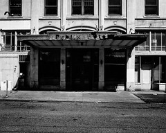 Publix Hotel (Oliver Tanning) Tags: blackandwhite seattle ricohgr urbanlandscape
