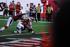 BucsvsCardinals-0267 (awinner) Tags: 8 2013 arizonacardinals football mikeglennon nationalfootballleague nfl quarterback raymondjamesstadium sack september2013 september29th2013 tampabaybuccaneers tampaflorida