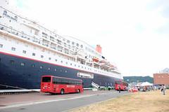 : Summer Port (Colorful-wind) Tags: 2016 8 city color colors fujifilm fukuoka harbor japan kitakyushu lightandshadow mojiko nipponmaru passengership port sea ship