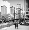 Oblivious company.jpg (Theunis Viljoen LRPS) Tags: admiralty hongkong lippocentre pedestrians phubbing