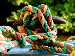 All tied up (vintage vix - Everything is a miracle) Tags: rope knot narrowboat