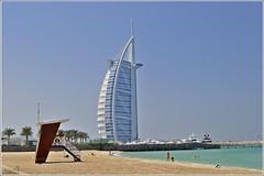 Burj Al Arab (j3nni14) Tags: dubai burj edificio jumeira palmera beach agua