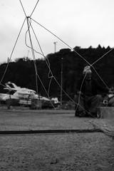 behind the net (MrtBzts) Tags: net fisherman dof istanbul nikon d7200 sigma