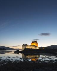 Eilean Donan Castle 2 (Delta Skies) Tags: eilean donan castle scotland scottish highlands sunset blue hour