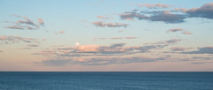 Coogee Moonrise (0zufan) Tags: fujifilm xpro2 xf35f14 35mm clouds beach ocean sydney sunset fuji moon