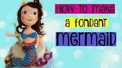 How to make a mermaid cake topper figurine tutorial handmade edible YOUTUBE (The Sugar Studio ni) Tags: cake tutorial decorating topper techniques how ariel disney princess elsa olaf frozen fondant clay gumpaste doh play mermaid baby dory finding nemo
