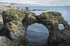 Basalt Arch. (david newbegin) Tags: iceland arnarstapi snaefellsnespeninsular basalt arches basaltarch coast sea