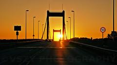 Duisburg Ruhrort Sunset on the Bridge (vszy) Tags: duisburg sunset brcke bridge ruhrort vszy