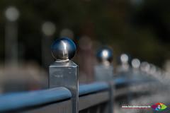 Sainless Steel Railing (F. Peter Blank) Tags: 2016 bremen edelstahl gelnder kugel peterblank urlaub weserwehr ball beedaaah fpb fpbphotography fpbphotographyde railing stainlesssteel
