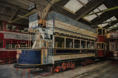 SL260416 National Tramway Museum 08 (Sh4un65_Artistry) Tags: artwork digitalart digitalpainting nationaltramwaymuseum painteffect paintedphoto painterly places textured topaz topazimpression topaztextureeffects tram transport