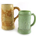 3013. (2) Antique German Beer Mugs
