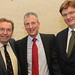Lib Dem candidate Mike Thornton with David Chidgey and Danny Alexander