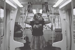 (bridget cox) Tags: white black film photography mask identity giraffe