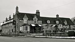 The Collyweston Slater Inn (MickyFlick) Tags: roof england stone architecture pub inn natural northamptonshire architectural historic historical stamford slate jurassic roofing slater collyweston mickyflick