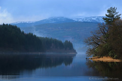 2012-12-15_1338 (Kristian Hentschel) Tags: winter mist lake fog reflections landscape scotland loch lochard