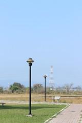 (Kuang-Hui Liu) Tags: park lamp canon streetlamp lawn      ef2470mmf28l 650d  rebelt4i eoskissx6i