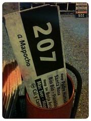 A la basura… (Pelao Arce) Tags: chile santiago trash basura letrero santiagodechile 207 basurero transantiago subus subuschile patiorecoleta uploaded:by=flickrmobile flickriosapp:filter=flamingo flamingofilter