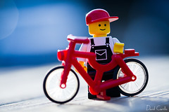 Ride my bike (Krrillo) Tags: david macro smile canon eos lego bokeh 100mm 7d invierno 28 usm burgos f28 ef carrillo maro canon usm krrillo