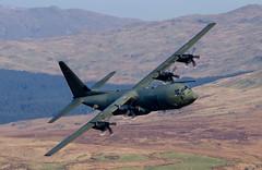 Hercules (Howie Mudge LRPS BPE1*) Tags: wales plane nikon aircraft cymru cargo raf machloop d7000 tamron70200mmf28 herculesc130jzh877