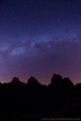 "Milky Way over the Patriarchs - Zion NP (IronRodArt - Royce Bair (""Star Shooter"")) Tags: sky night stars nightscape zion zionnationalpark heavens universe starry nightscapes milkyway courtofthepatriarchs patriarchs starrynightsky"