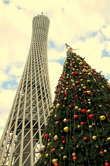 IMG_1395 (wyliepoon) Tags: guangzhou china christmas new tree tower observation town tv sightseeing canton  zhujiang  cantontower