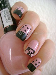 Desafio Animal II - #12 - Porquinho (Eva Super) Tags: animal pig nailart porc porco porquinho desafio afrah pretofosco pignailart afrahnyce desafioanimalii