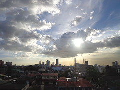 Afternoon sun (cess044) Tags: sunset sun weekend sony philippines cybershot manila amateur beginner quezoncity carlzeiss metromanila w650 tessar 2013 w630