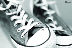 {Smile*} (Lenis0987) Tags: bw white black canon project 50mm blackwhite sneakers converse 365 bianco nero zapatillas lenis 1100d