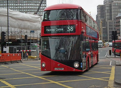 Arriva LT6 (kenjonbro) Tags: uk red england london victoria hybrid doubledecker 38 2012 londontransport arriva transportforlondon hackneycentral wrightbus nbfl newroutemaster lt6 kenjonbro newbusforlondon wrighbus borisbus lt12fht