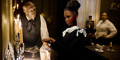 Oscar Barbies: Django Unchained (lindendeux) Tags: barbie alvinailey pivotal mbili