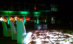 Green Lighting - Pattern Projection - The Long Center