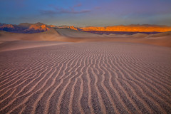 Sunset at the Mesquite Dunes (chris lazzery) Tags: california sunset sanddunes deathvalleynationalpark canonef24105mmf4l mesquitedunes 5dmarkii
