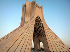 Azadi freedom tower of Tehran (Germn Vogel) Tags: tower architecture square asia iran capital middleeast landmark tehran azadi borj azaditower islamicrepublic westasia azadisquare gettyimagesmiddleeast