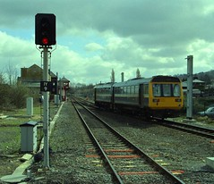 142088 Ilkley (RyanTaylor1986) Tags: br box north rail class east sector british 1994 signal railways 142 regional ilkley pacer provincial noddingdonkey electrification 1421 142088 rrne resignalling ilkleyjunction