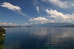 Villa la Angostura, Lago Nahuel Huapi (blauepics) Tags: blue patagonia lake mountains water argentina clouds landscape lago see la wasser wolken berge villa blau landschaft angostura nahuel huapi argentinien patagonien