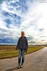 Margit (buchsammy) Tags: deutschland himmel wolken ralf margit mensch gassi bitzer 2013 marz buchsammy hufingen