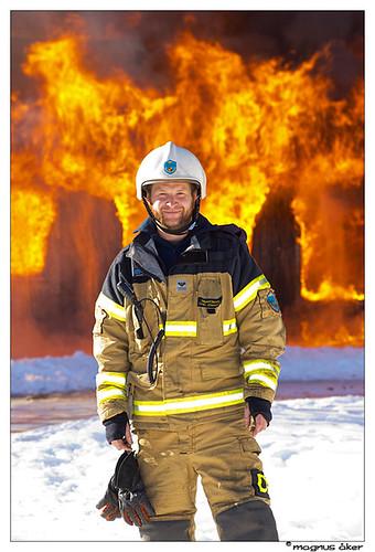 Fire brigade practice