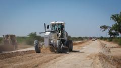 2013_01_24_Afgooye_Road_Grading i (AMISOM Public Information) Tags: somalia reconstruction mogadishu afgooye amisom