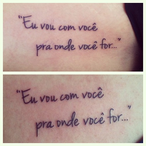 Playtattoo Tattoo Tatuagem Tatouage Frases Quotes Chorao