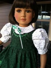 Amelie is Irish Today (melimeli - photos) Tags: face doll madison amelie mold twinn my