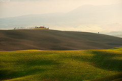 Layers & Lines#11 (Corsaro078) Tags: sunset landscape nikon tramonto hills tuscany toscana paesaggio d3 colline