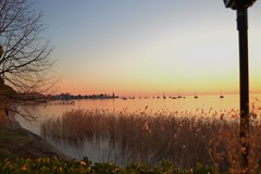 bardolino (Alessandra lazza) Tags: sunset lake gardalake lagodigarda bardolino skycolors romanticsunset