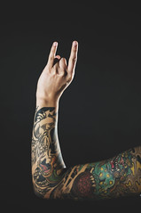 ROCK ON! (Jon Medina) Tags: boy metal ink japanese pretty lol sony gabe tattoos alpha sleeve rockon tatts a35