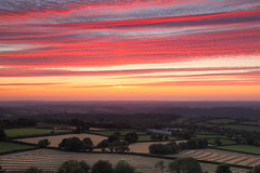 Summer Fields (@Gking_photo) Tags: sunset sky clouds rural landscape photography countryside imac redsky westcountry