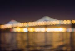 You Make Me Glow, Baby (tressa.crozier) Tags: sf sanfrancisco bridge lights bay baybridge ferrybuilding tcrozier